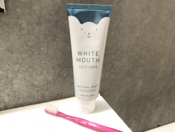 【ホワイトマウス】口内環境を整えながら、ホワイトニングもできる、歯磨き粉♪