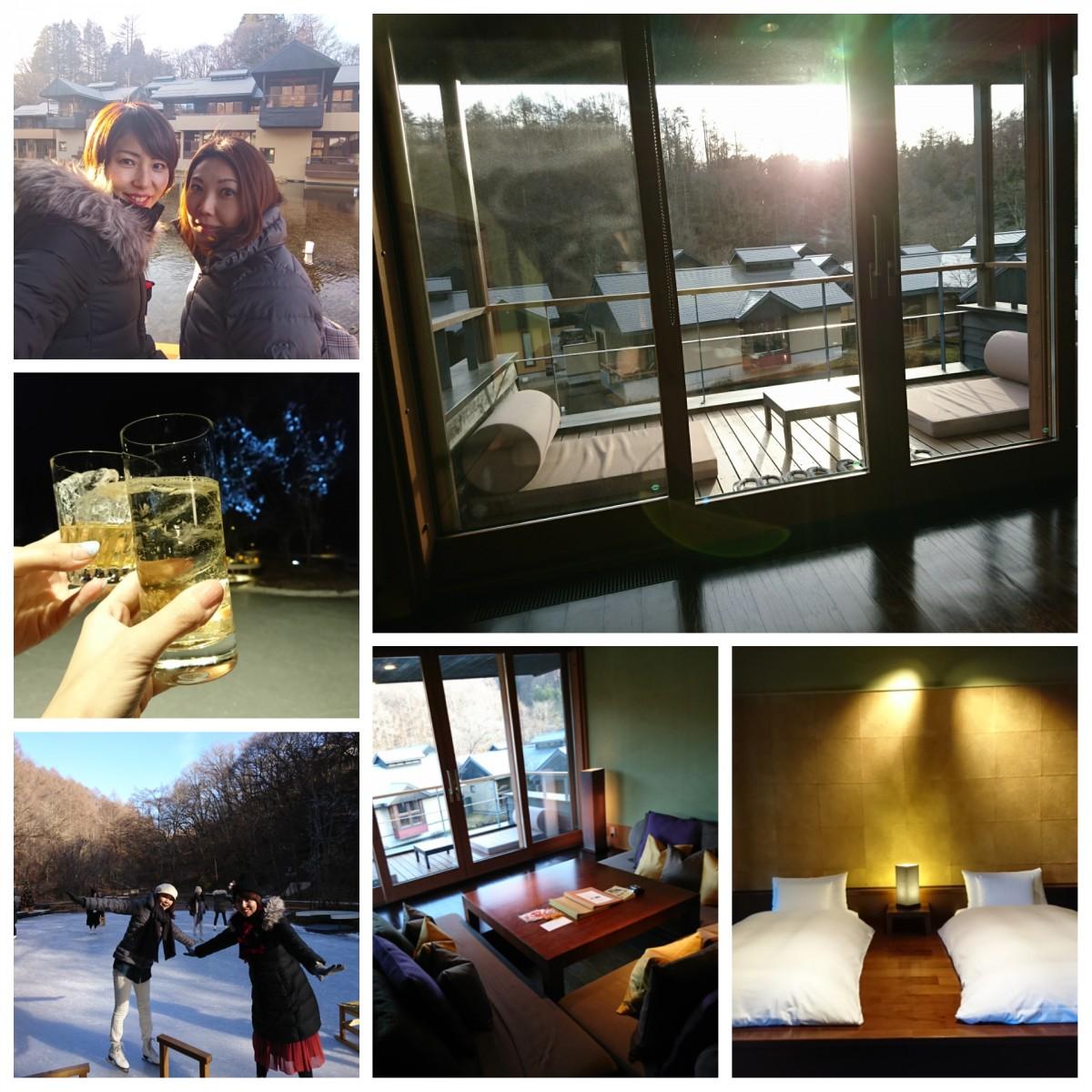 星のや軽井沢に宿泊♪軽井沢星野エリアを堪能する冬旅【前編】