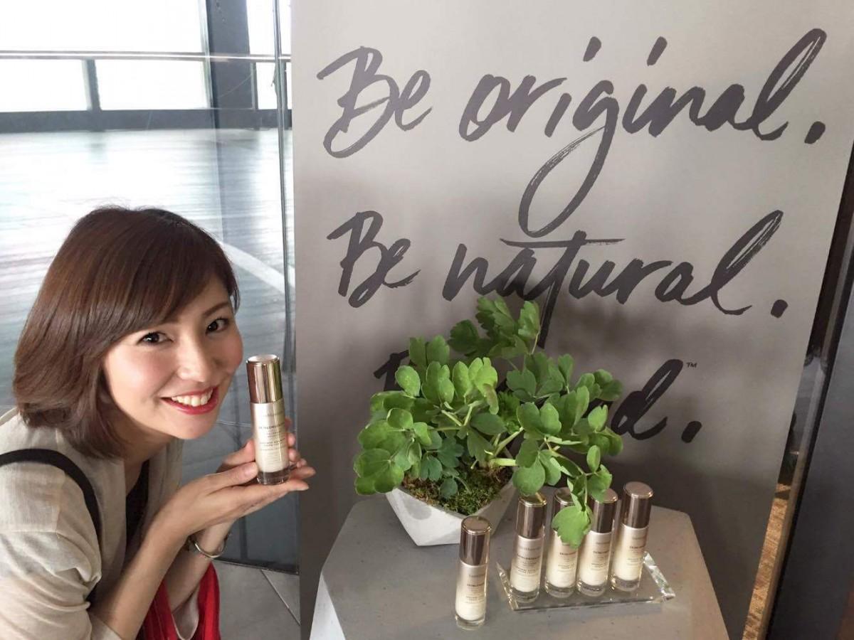 【ベアミネラル新製品発表会】スーパーフード'長命草'配合美容液「スキンロンジェヴィティ」