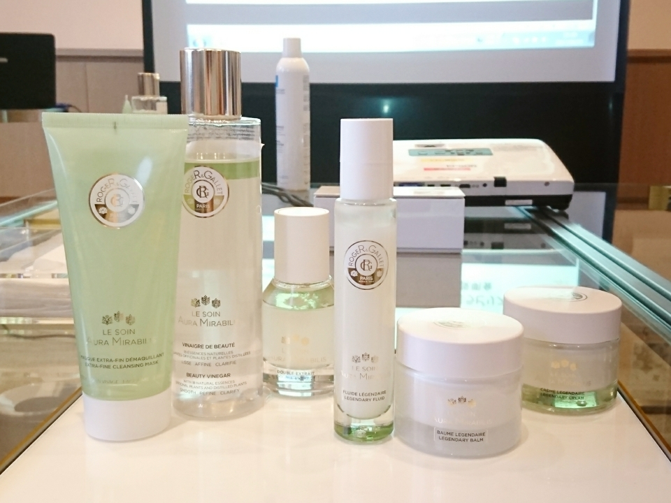 ハーブの香りは肌を綺麗にする?!「ロジェ・ガレ」スキンケア新製品体験会