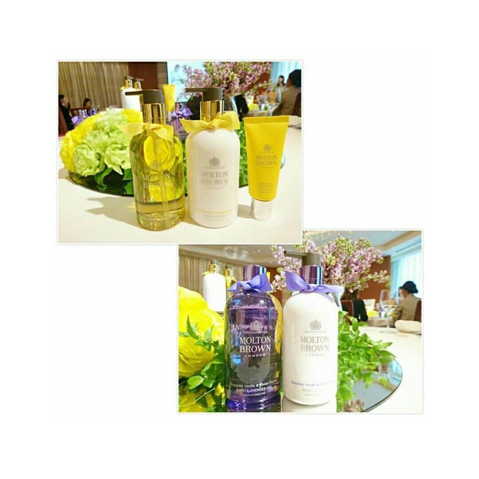 パティスリーパーラーを思わせるワクワク感と上質な香り♡モルトンブラウン春の限定アイテム新製品発表会