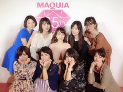 小顔も目ヂカラも叶う!長井かおりさんの加工アプリ級メイク術♡MAQUIAビューティーシェアクルーズ