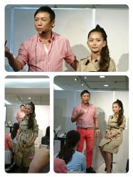 小顔、つや肌、なのにメイクレス?!黒田啓蔵さんのバーバリーメイク講座に参加しできました。
