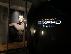 最先端!SIXPAD STATIONで近未来型EMSトレーニング