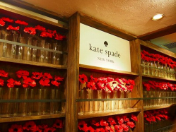 kate spade presents paris night with Sacree fleur
