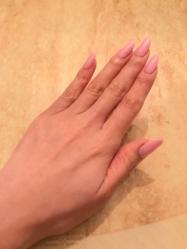 ネイルチェンジ☆.。.:*・桜カラーで春を先取り♫