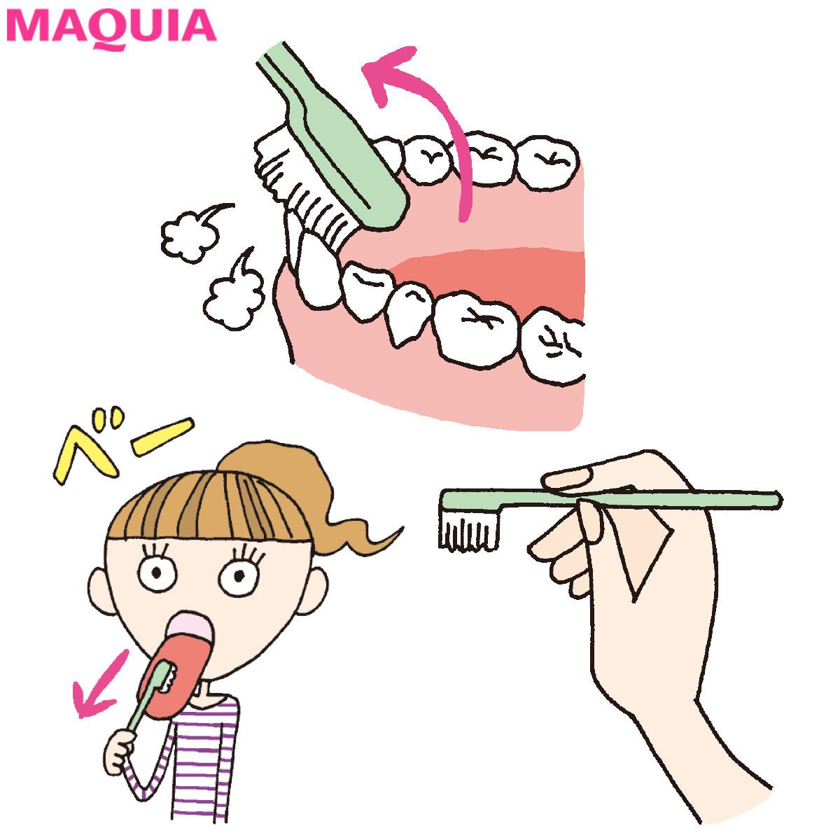 「口もと老け度」をチェック診断! 正しい歯磨き方法をおさらい