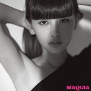 【創刊14周年インタビュー】MAQUIAミューズ・鈴木えみさんの美容との向き合い方