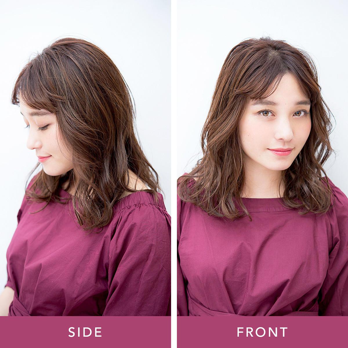 変わりばえしないヘアに飽きたら…前髪だけで印象チェンジ3パターン_1_5