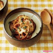 風邪予防に効く!  冬野菜×豆乳ポタージュを今晩のおかずに♪