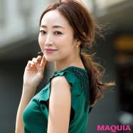 神崎 恵さんが提案! 猛暑に負けない真夏の通勤美女スタイル
