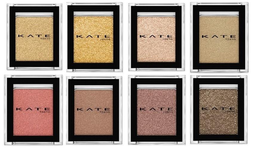 ALL¥1600以下! KATEから全26色の単色アイシャドウ、極細アイライナーほか5月1日に一斉発売!