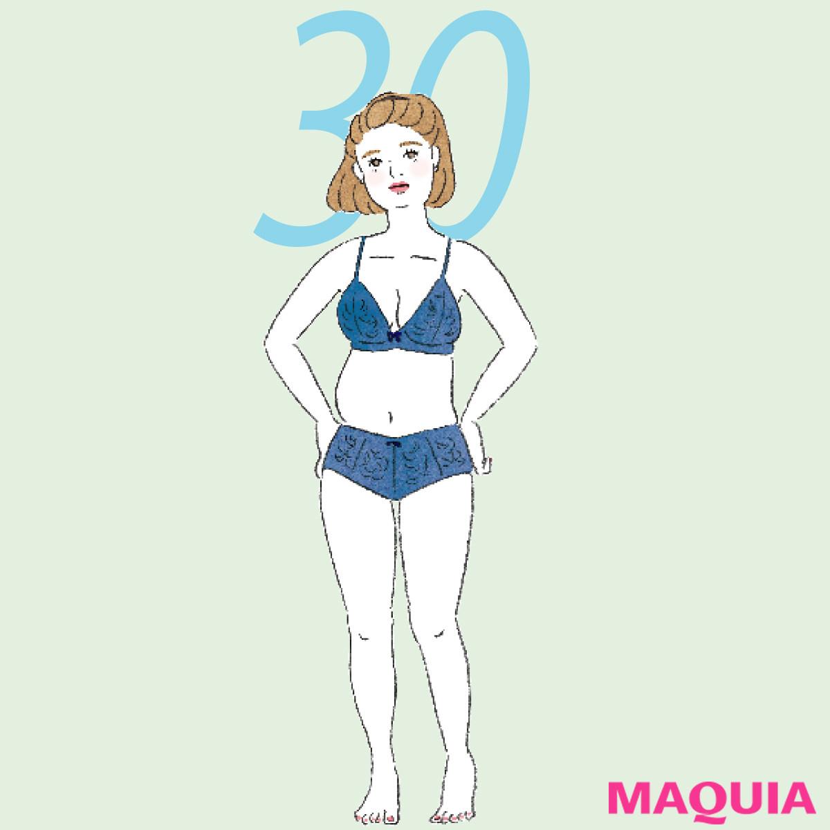 30代がなかなか痩せない理由はコレ! アラサーの太り方の特徴&対処法