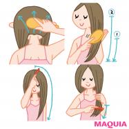 正しいケアで美髪は叶う! ブラッシング&コーミングの正解を伝授