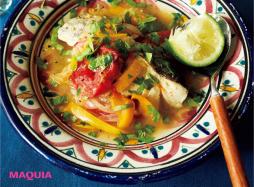 野菜と魚で元気&美肌に!「南米風タラと野菜の重ね蒸し」レシピ