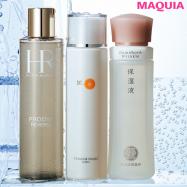 美容家・石井美保さんの透明感のある美しさは3本の化粧水がカギ!
