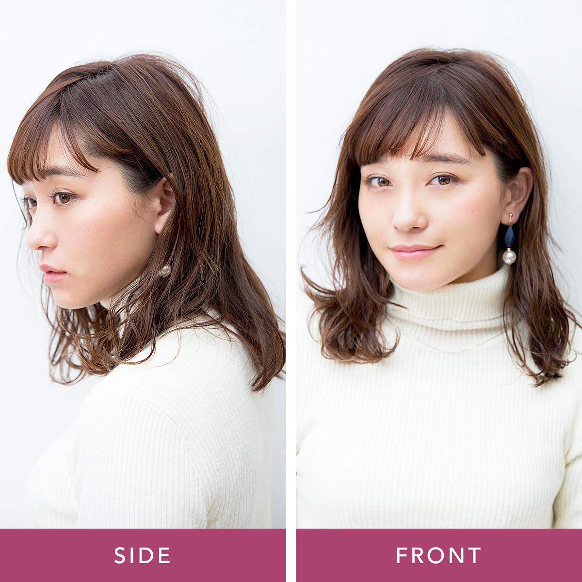 変わりばえしないヘアに飽きたら…前髪だけで印象チェンジ3パターン_1_1
