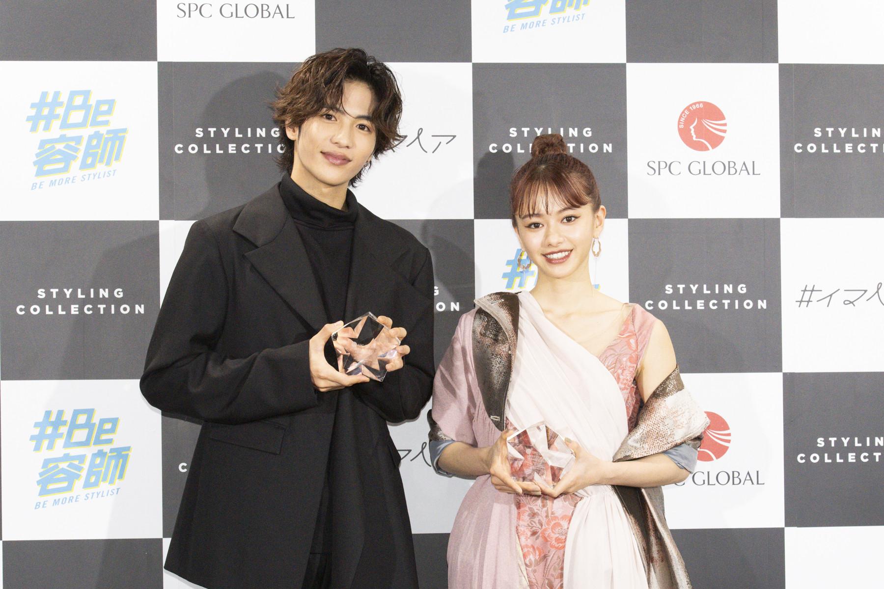 俳優・志尊淳さんと、女優の山本舞香さん