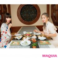 ソウルの美味しいものを、鈴木えみ&MEGBABYがレポ! 【宮廷料理、ホルモン焼き、かき氷、パンetc.】