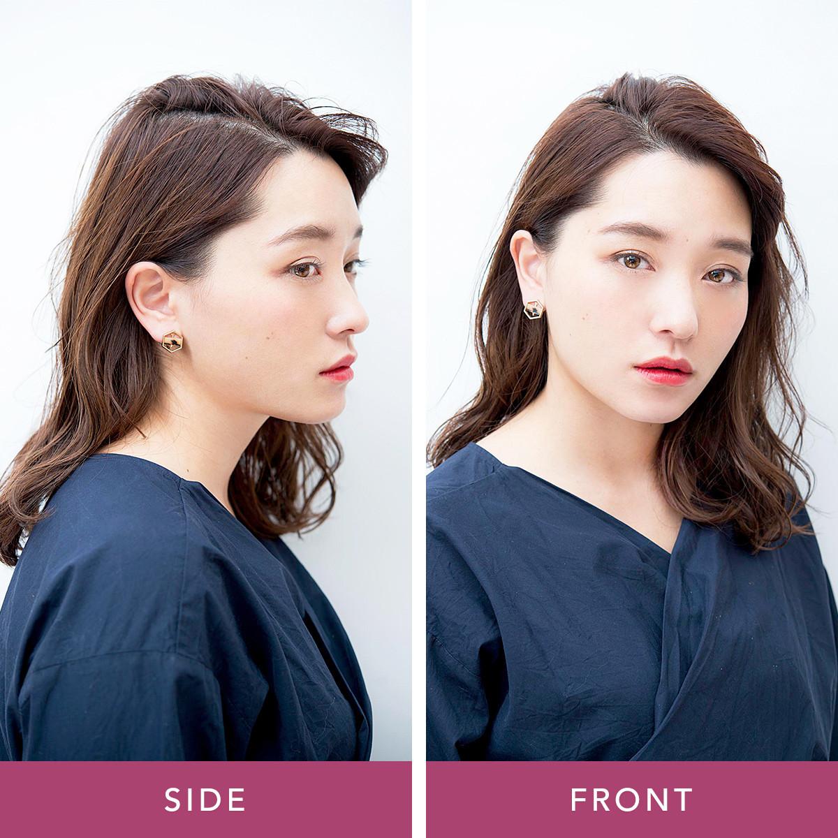 変わりばえしないヘアに飽きたら…前髪だけで印象チェンジ3パターン_1_3