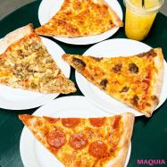 洒落たムードでワンコインピザ♪ 「PIZZA SLICE2」が南青山にオープン