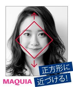 どんな髪型でも小顔になれる!「正方形バランス」にヘアチェンジ_1_3