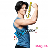 武田真治さんがマキアに登場! 美人になる筋肉の基本を教えます