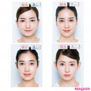 小顔メイクを目指す前に!【縦長・横長・求心・遠心】あなたの顔はどのタイプ?