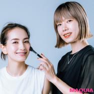 自然なメリハリ顔はこう作る! つなぎの名手、paku☆chan流・美人度アップメイク