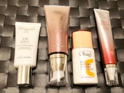 日焼け止め・保湿力・美容液と1本で何役もこなすUV効果の高い化粧下地使い比べ