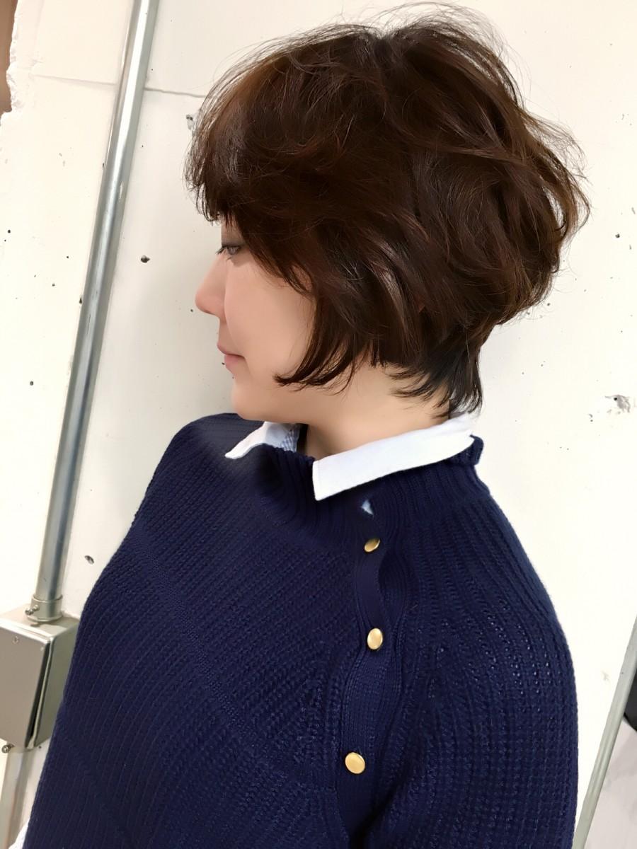 冬のショートヘアでファッション×ヘアを楽しむ!