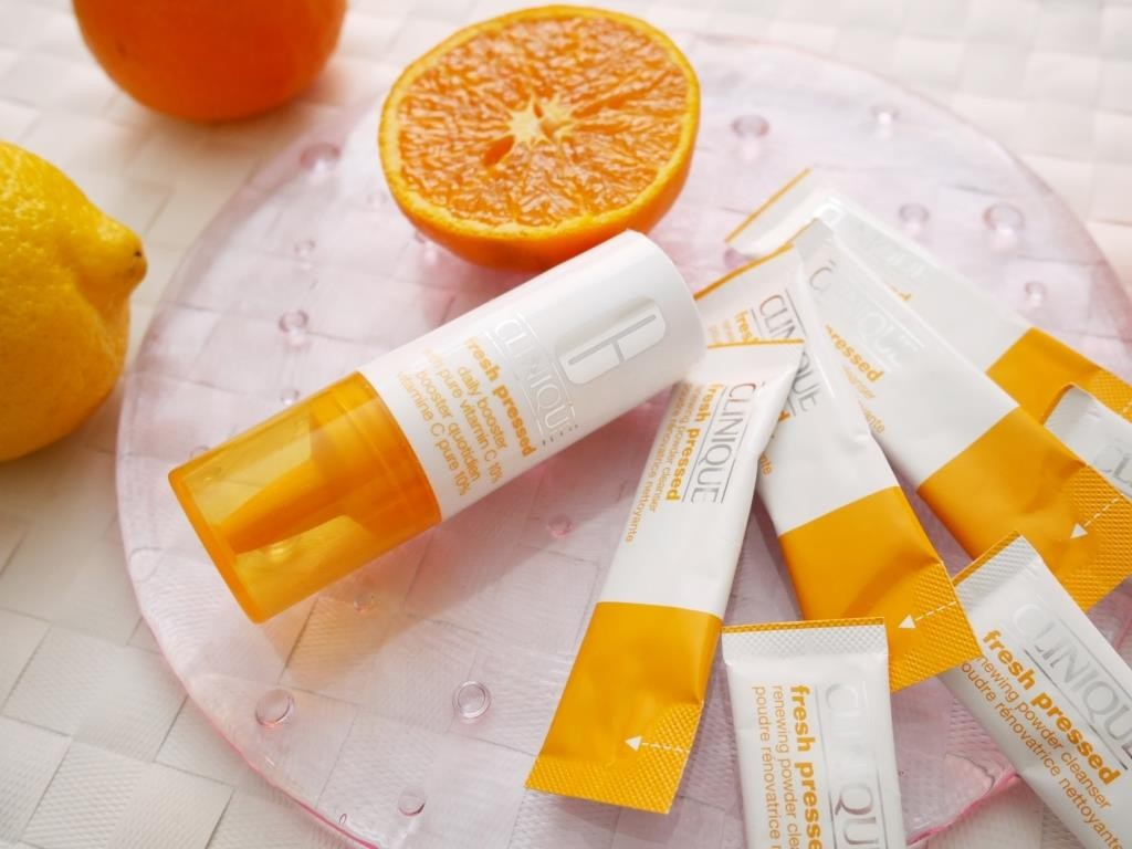 クリニークのフレッシュプレストで7日間チャレンジ。高濃度ビタミンCで即効性のある美肌効果を狙え!
