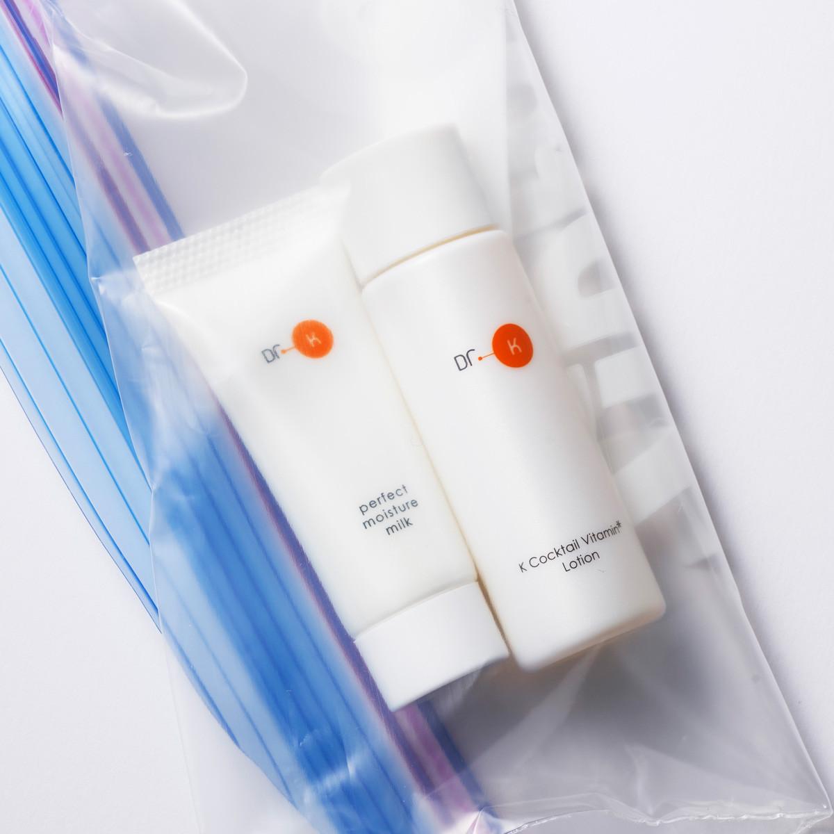旅行中も乾燥知らず! 皮膚科医開発の安心スキンケアをいつもそばに【ちいサンプル】_1_3