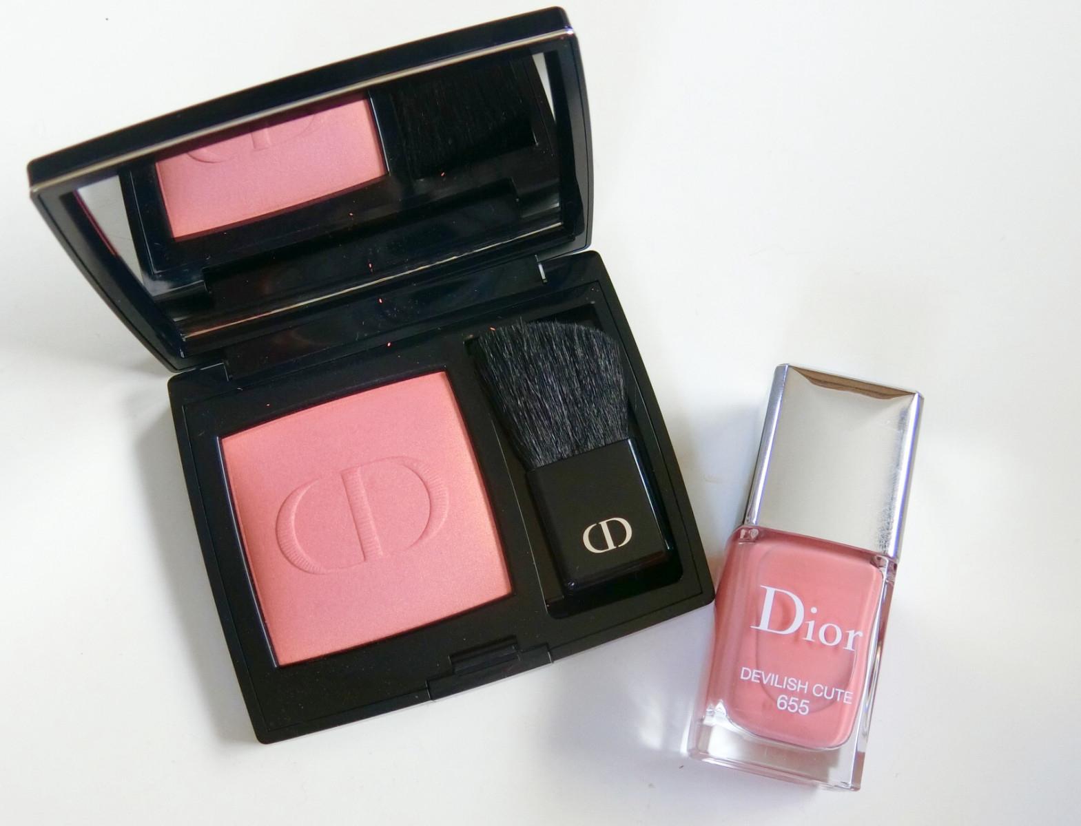 【8月3日発売Diorの新作】リニューアルされたチークと限定色のネイル!
