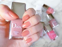 【失敗無しの色選び】Diorヴェルニのオフィスネイルカラー♡