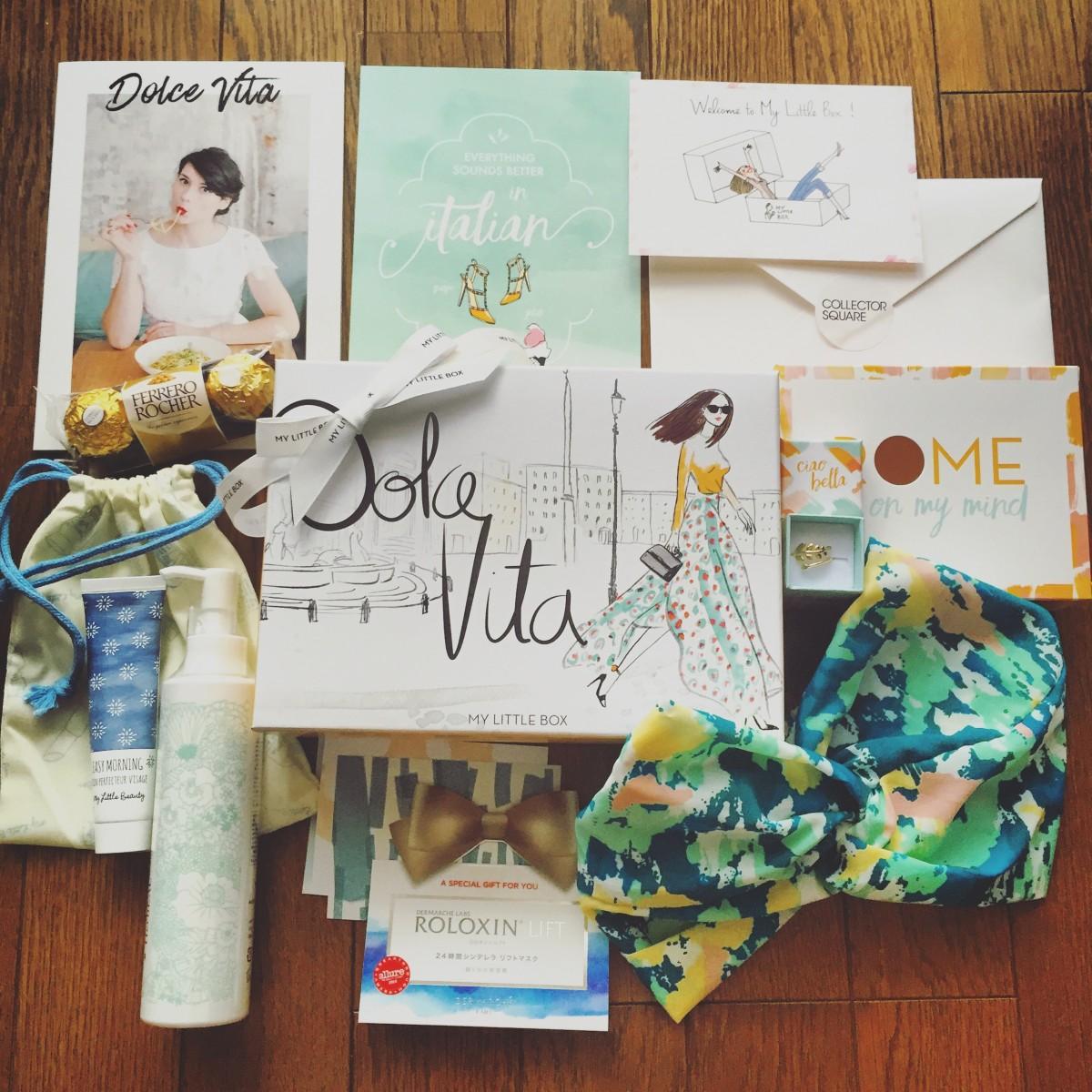 5月は「DOLCE VITA」がテーマ♡MY LITTLE BOXには気になっていたあのアイテムもIN!