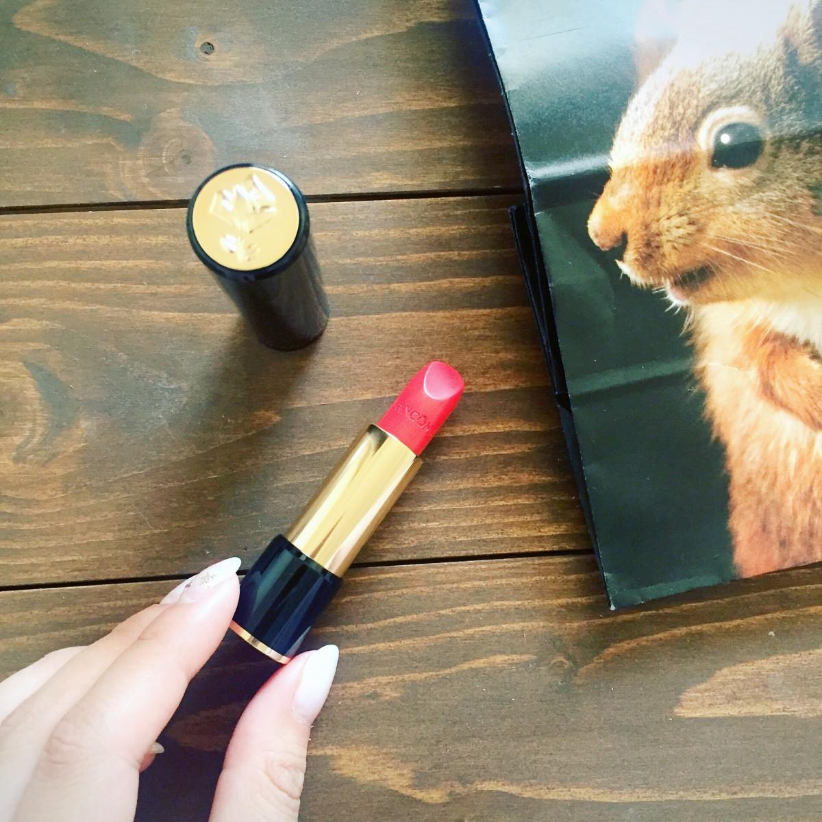 2017年もリップ熱が止まらない♡ひと塗りでセンシュアルリップが手に入るランコム「ラプソリュ ルージュ」
