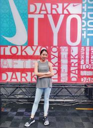 NIKEのスポーツイベント『TOKYO AFTER DARK AT SHIBUYA』でサイバーヨガ体験