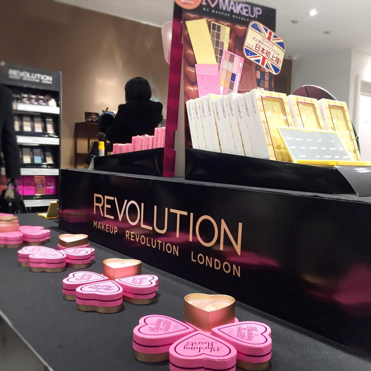 日本初上陸!ロンドン発ファストファッション コスメブランド「Makeup Revolution London」