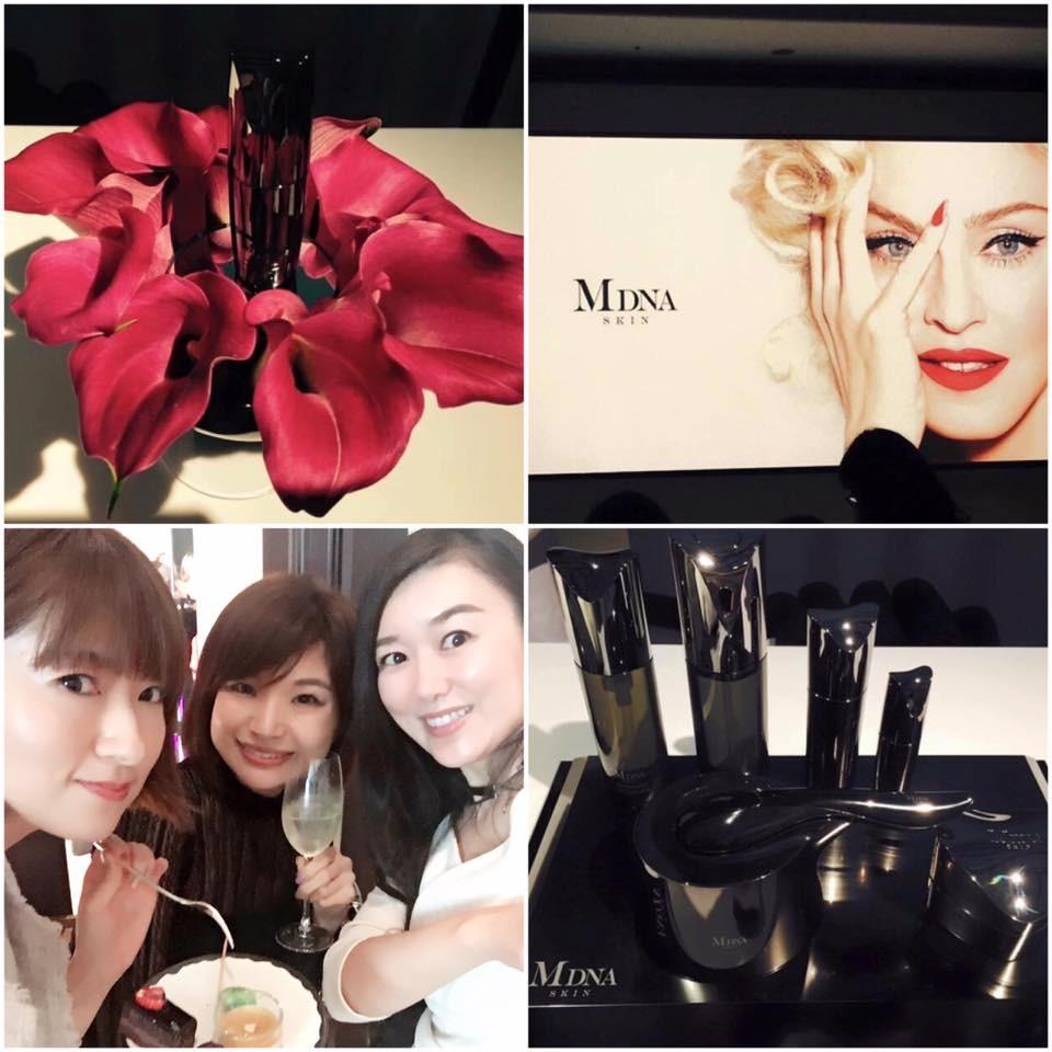 マドンナは自身のお化粧品開発チームを持っていた!MDNA SKIN新作発表会レポ♡