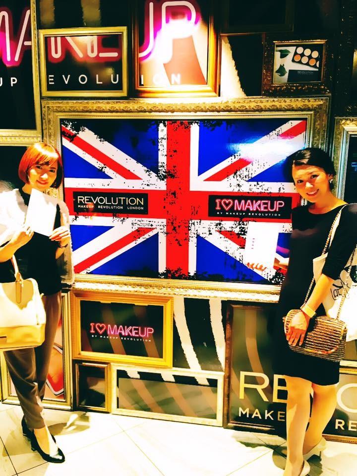 インスタで話題!コスメ界の ファストファッション ブランド MAKEUP REVOLUTION PRESENTS LONDON NIGHTへ♡