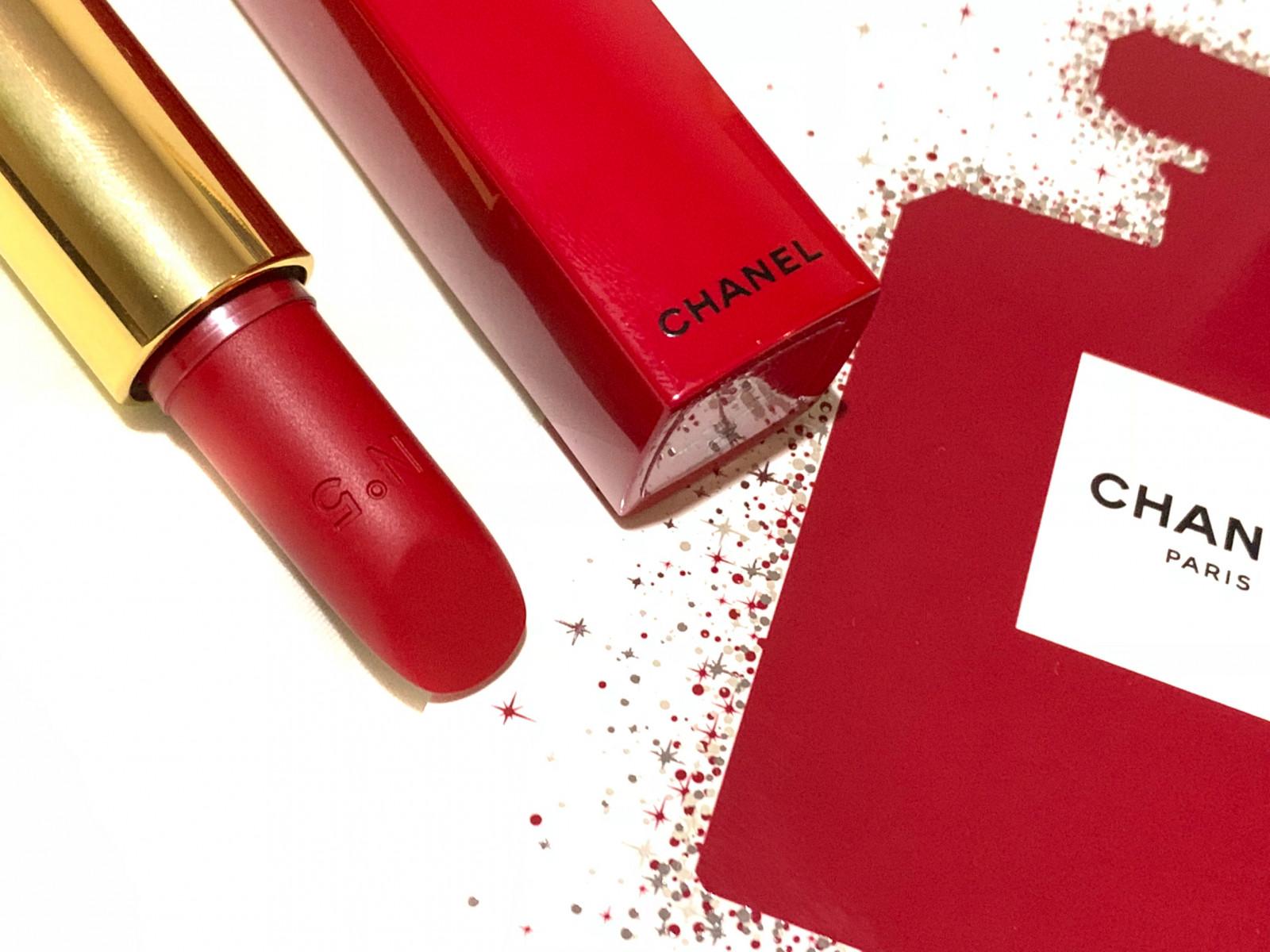 クリスマス限定コスメ Chanelのn 5リップで特別な 赤 を マキア