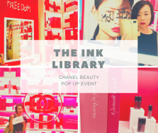 【秋メイク】表参道にシャネルの図書館が出現⁈「ザ インク ライブラリー(THE INK LIBRARY)」私に似合う秋色ルージュを探して♡