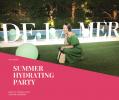 【イベントレポ】夏のストレスフルなお肌にこそ海の恵みを「ドゥ・ラ・メール サマーハイドレイティングパーティーへ」
