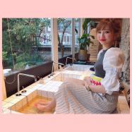 韓国弘大カフェ♡オーダーメイド韓方薬茶の足湯カフェ