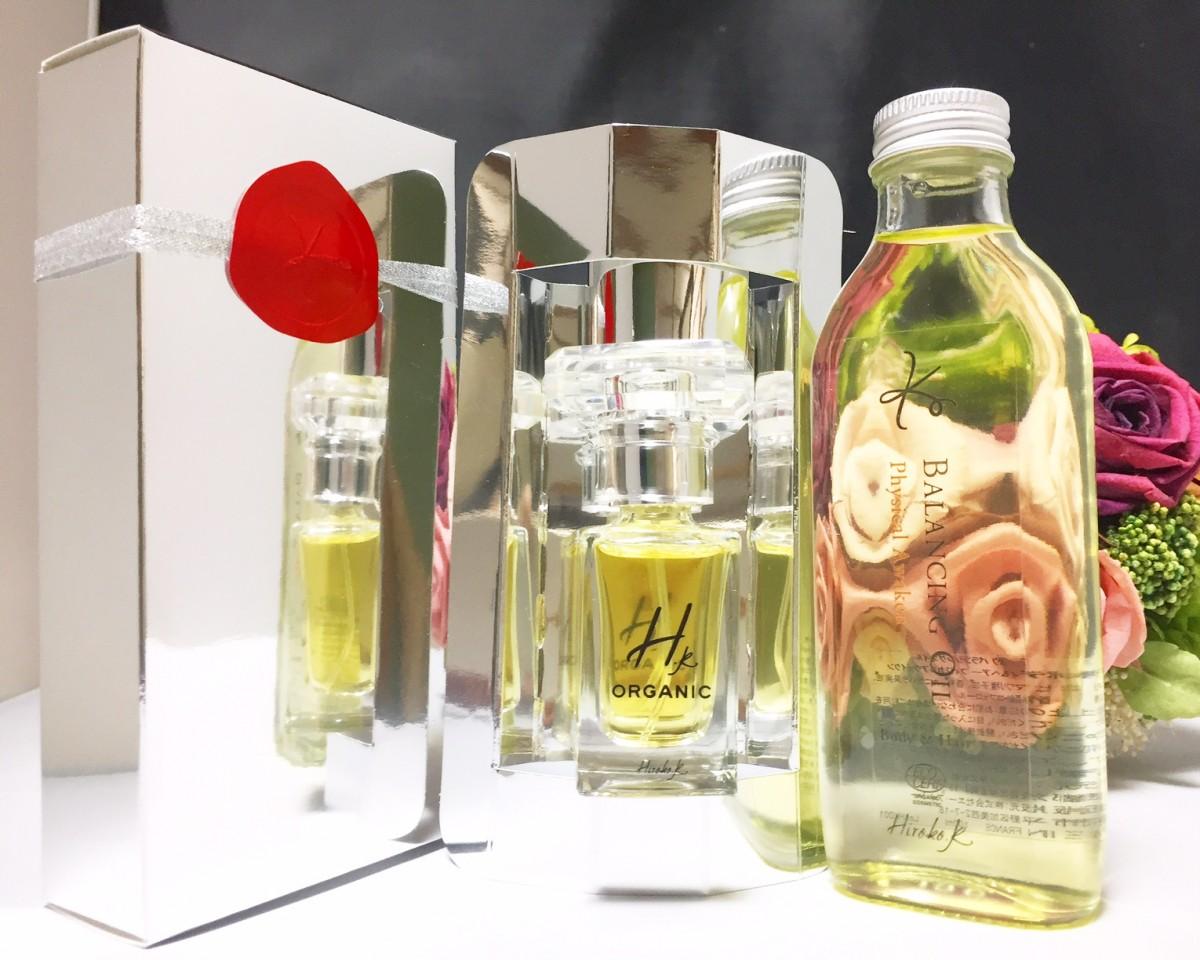 【肌から香る】水を一滴も配合していない♥ピュアなオーガニック香水とオイル香水