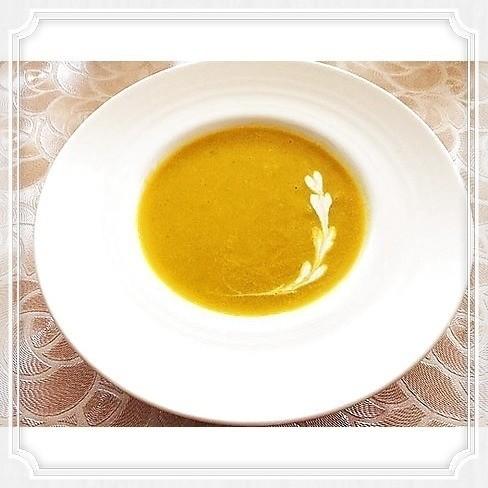 【美肌レシピ】かぼちゃ&玉葱のスープ