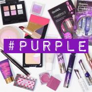 紫コスメが好きな私のお気に入りアイテム♡