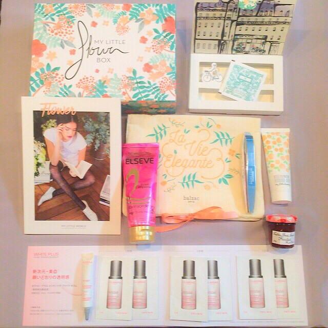 """【My Little Box】4月は""""Flower""""にちなんだコスメ&美容ツールがIN♡"""