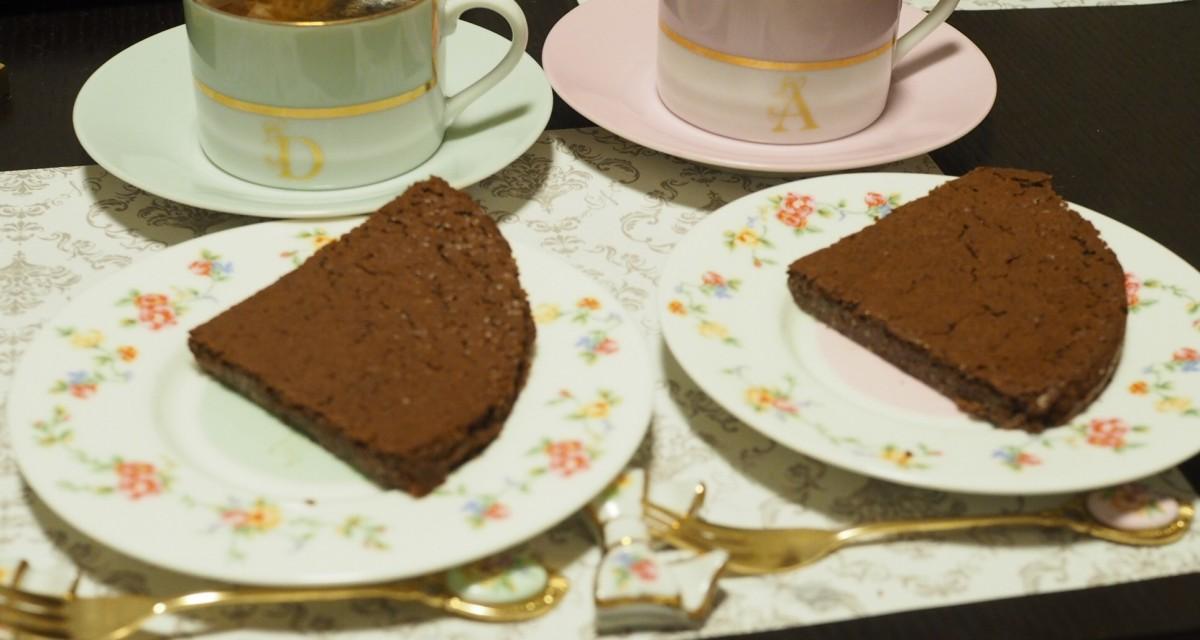 【小麦粉、バター不使用】♡お豆腐ガトーショコラ♡【低カロリー】